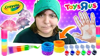 Cash or Trash? Testing 3 Craft Kits from ToysRus Crayola Crafts