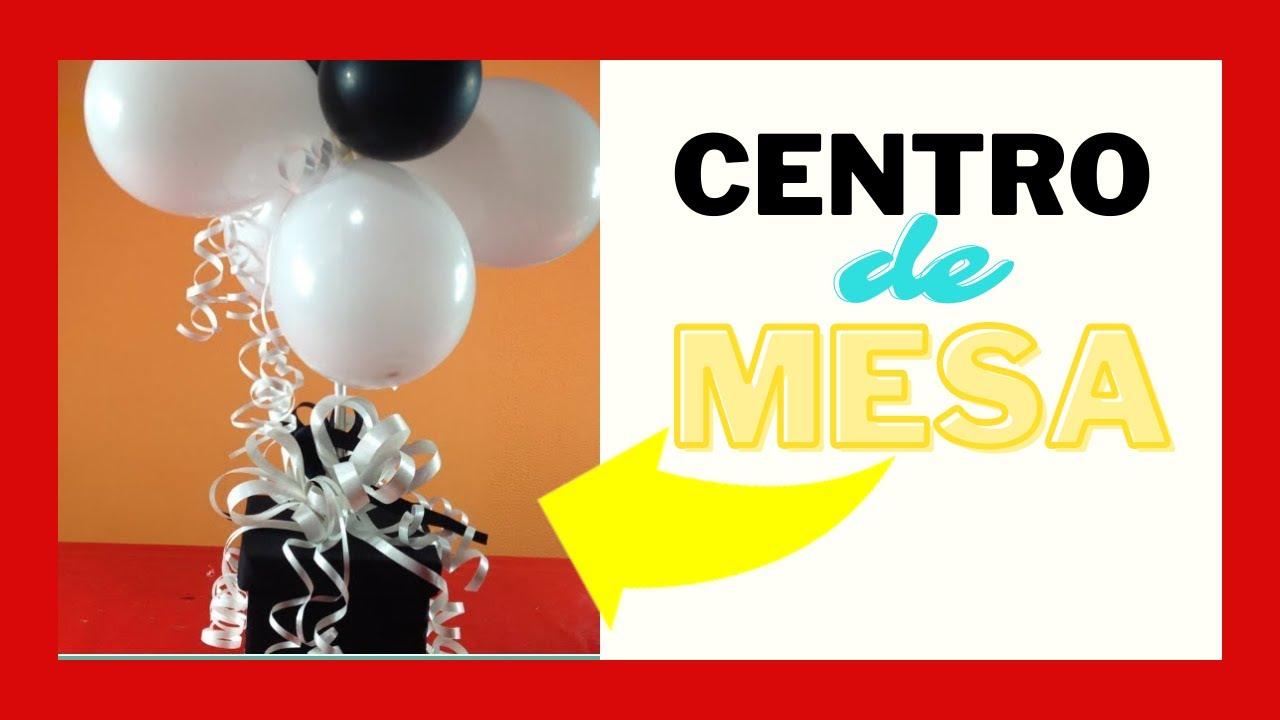 Centro de mesa para cumpleaños YouTube