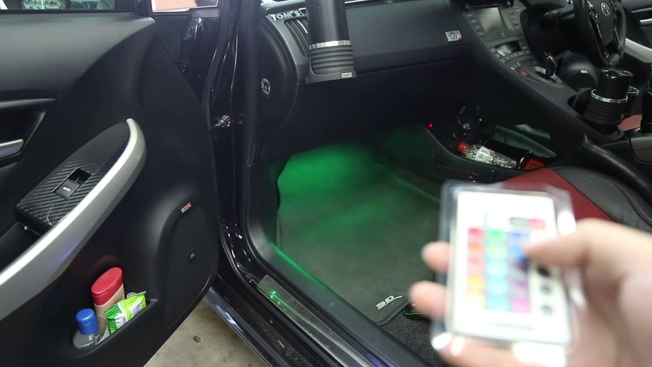 & Osram Ambient light in car - YouTube azcodes.com