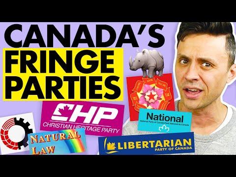 Canada's Tiny, Weird Political Parties