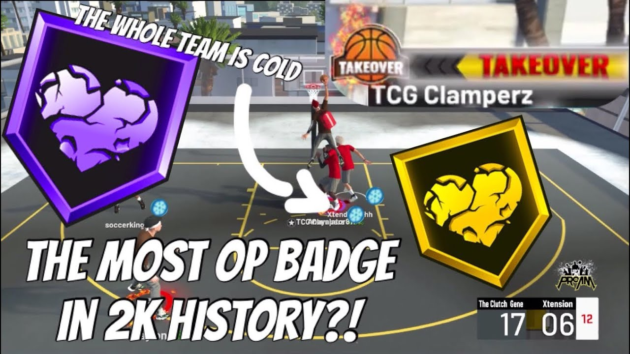 Heart Crusher Full Badge Test (The ENTIRE Team Goes COLD) NBA 2K21 Badge Tests & Breakdown Episode 1