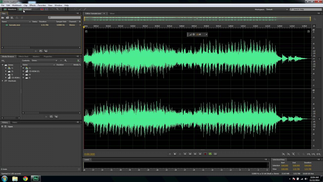 Adobe Audition Error Fix (sample rates do not match) - YouTube