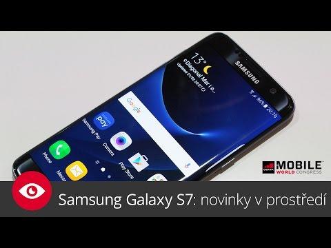 Samsung Galaxy S7: novinky v prostředí (MWC 2016)