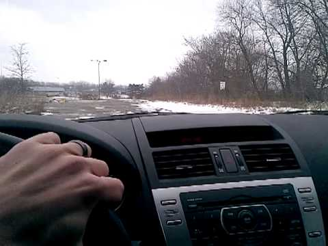 Rolling Acres Mall Akron Ohio, Parking Lot Tour Of Its Ruins 03/03/2013