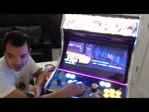 Bartop Multicade review OVER 1300 Games