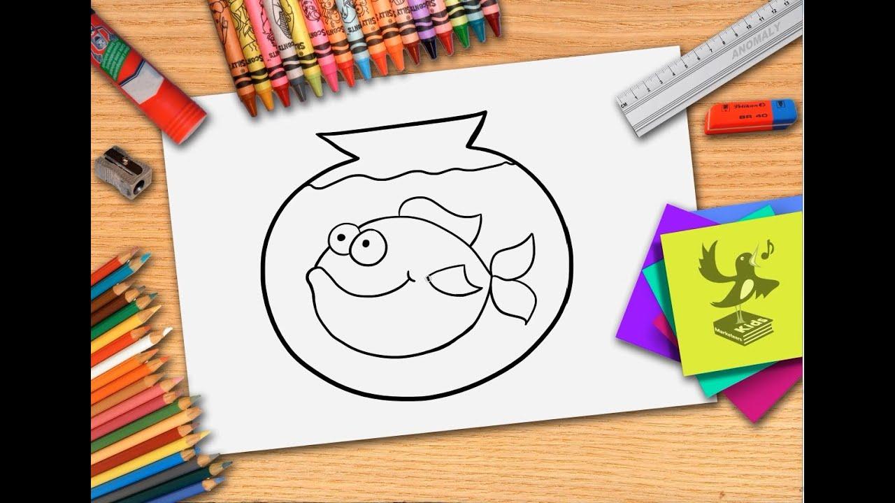 Hoe teken je een vis zelf vissen leren tekenen youtube - Hoe sluit je een pergola ...