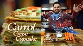 Carrot Crepe Cupcake - Guzii Style (english)