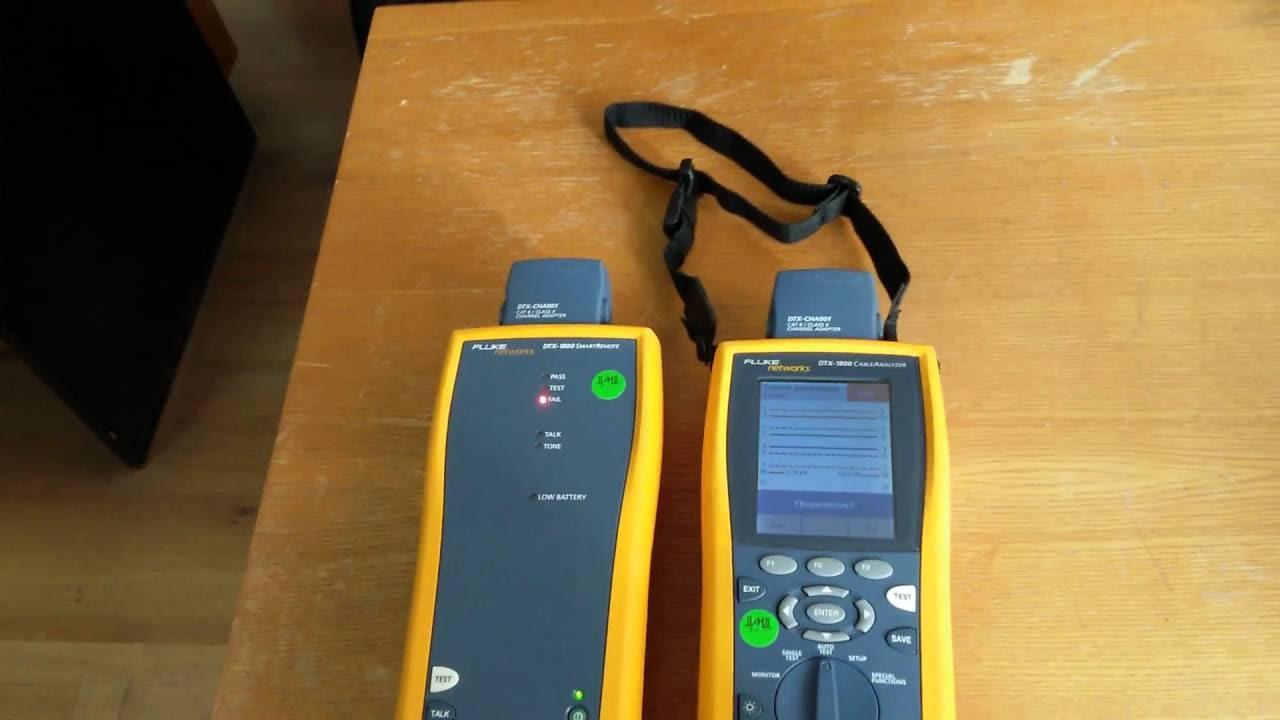 FLUKE NETWORKS DTX-1800 DRIVERS DOWNLOAD
