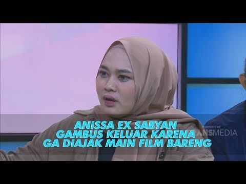 RUMPI - Anissa Ex Sabyan Gambus Keluar Karena Ga Diajakin Main Film Bareng? (25/6/19) Part 2
