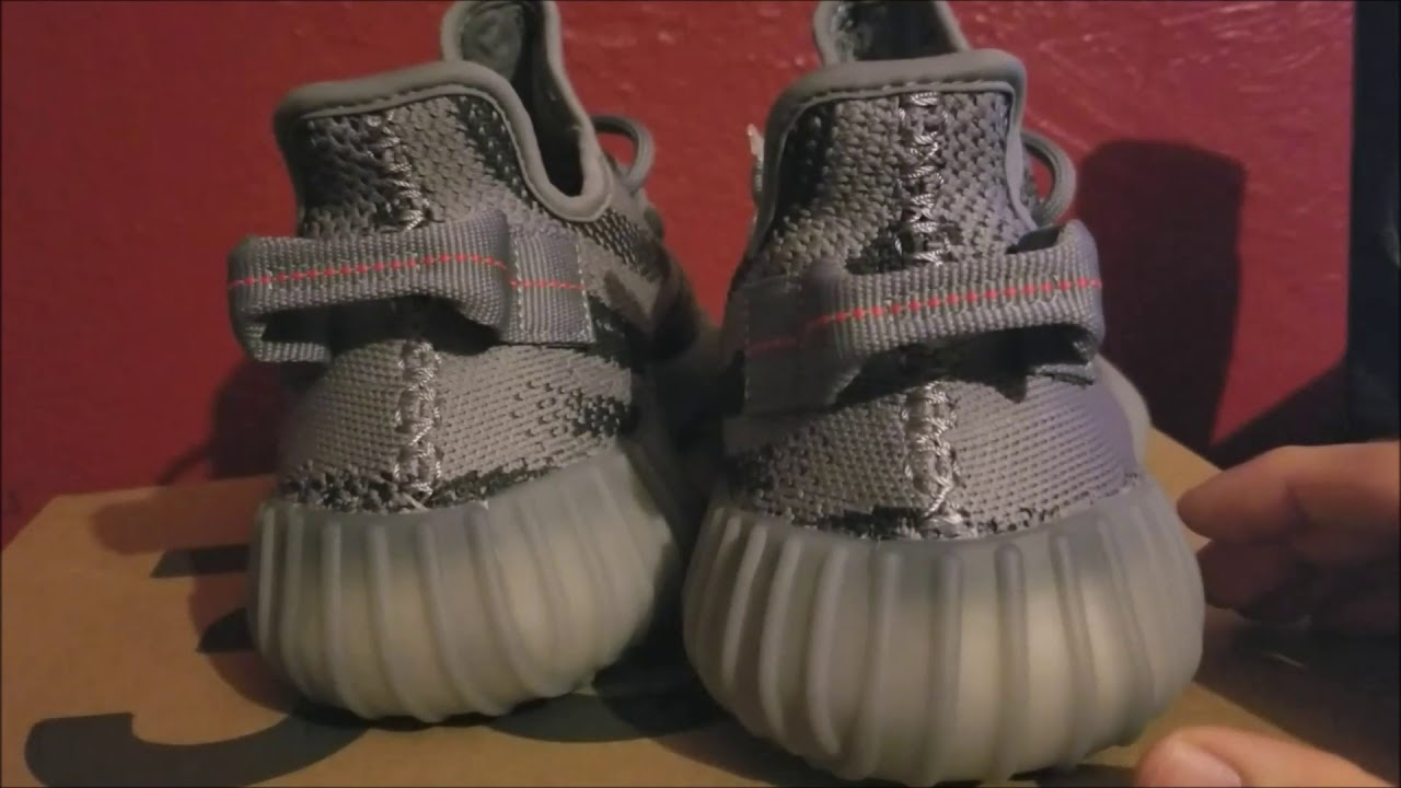efac6bf09 Yeezy Supply v2 350 Beluga 2.0 Unboxing  Legit Check UV light - YouTube
