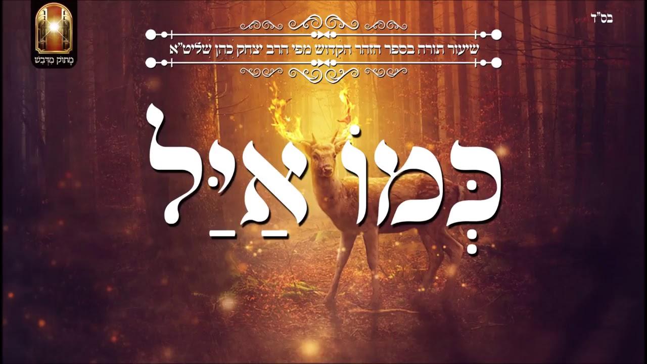 כמו איל  שיעור תורה בספר הזהר הקדוש מפי הרב יצחק כהן שליטא Rabbi Yitzchak Cohen Shlita Torah lesson
