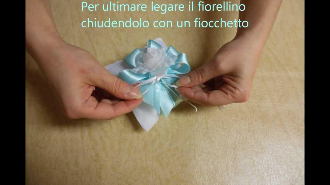 Extrêmement Confezionare BomboniereCuscinetto Tiffany - YouTube VU71