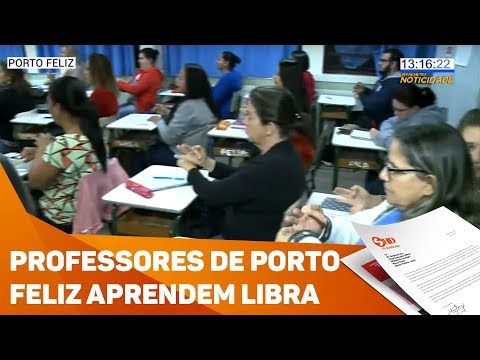 Professores da rede municipal aprendem libras  - TV SOROCABA/SBT