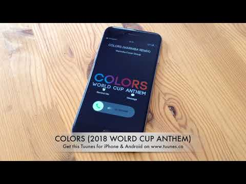 2018 World Cup Russia Ringtone - Colors Ringtone - Jason Derulo Tribute Marimba Remix Ringtone