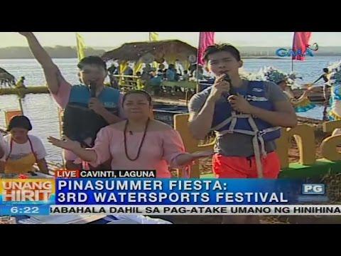 Unang Hirit: Water Sports Festival sa Cavinti, Laguna