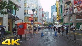 Rainy walk in Ikebukuro, Tokyo 雨の中池袋を散歩 - 4K