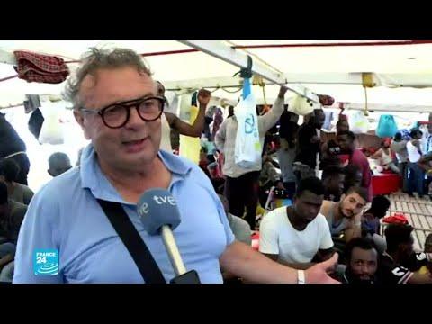 رئيس بلدية لامبيدوزا على متن سفينة الإغاثة..ماذا قال بشأن المهاجرين العالقين  - 16:56-2019 / 8 / 20