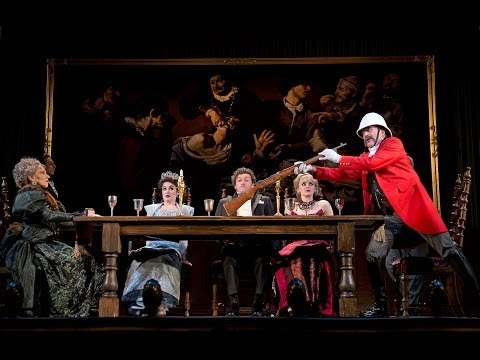 """Review of """"A Gentleman's Guide to Love and Murder"""" at Walter Kerr Theatre"""