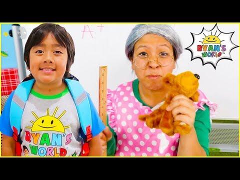 ryan-back-to-school-grandma-lost-her-puppy!!!