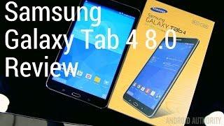 Samsung Galaxy Tab 4 8.0 Review