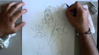 How to draw Deidara