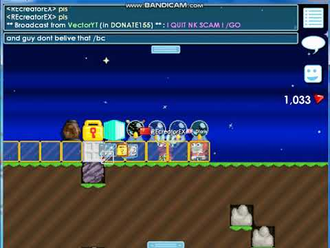 Growtopia hacker! get hack acc and lose item! dont be stupit like me!