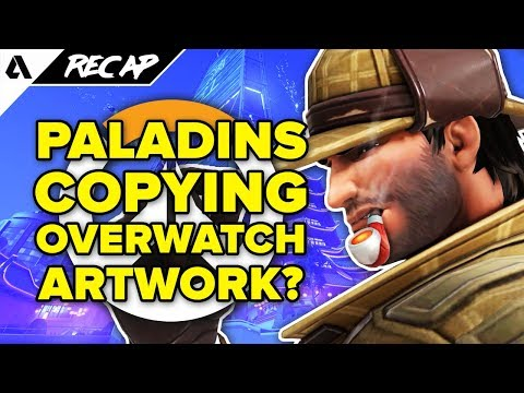 Paladins Copies Overwatch Map Art, New Competitive Updates, Pink Mercy Charity Event | Akshon Recap