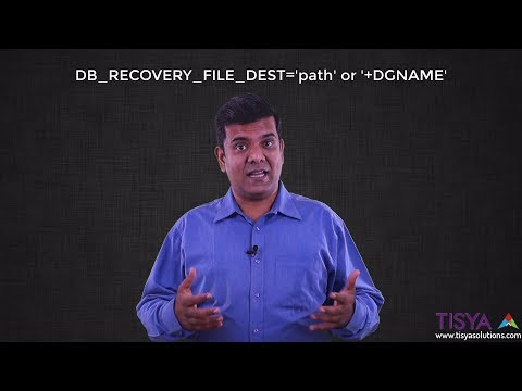 What is Fast Recovery Area and how to configure it- Backup&Reco Video 6