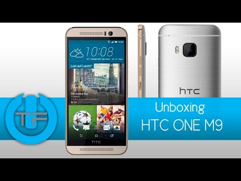 HTC one M9 Unboxing y primeras impresiones