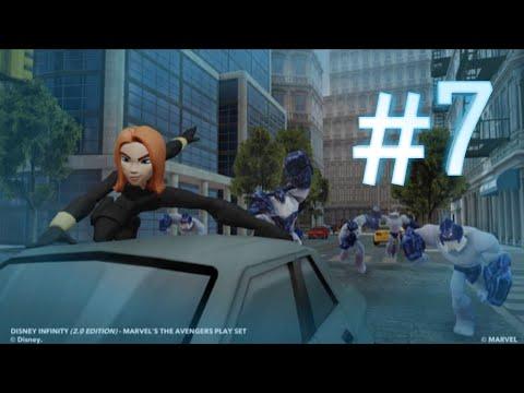 Прохождение игры Disney Infinity 2.0 !!! ИГРАЕМ за чёрную вдову!