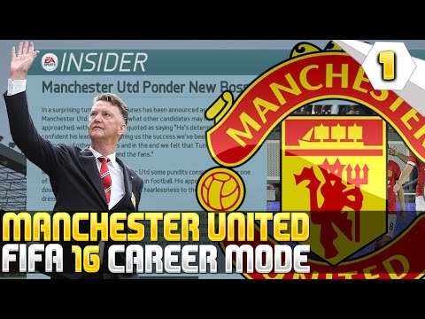 Louis Van Gaal Sacked By United! - Fifa 16 Manchester United Career Mode #01