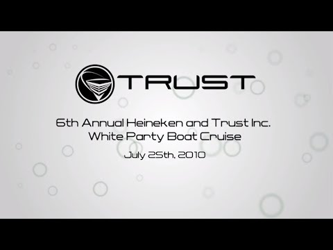TRUST Inc - White Party/Boat Party by Caprice Nightclub HD - Event Video