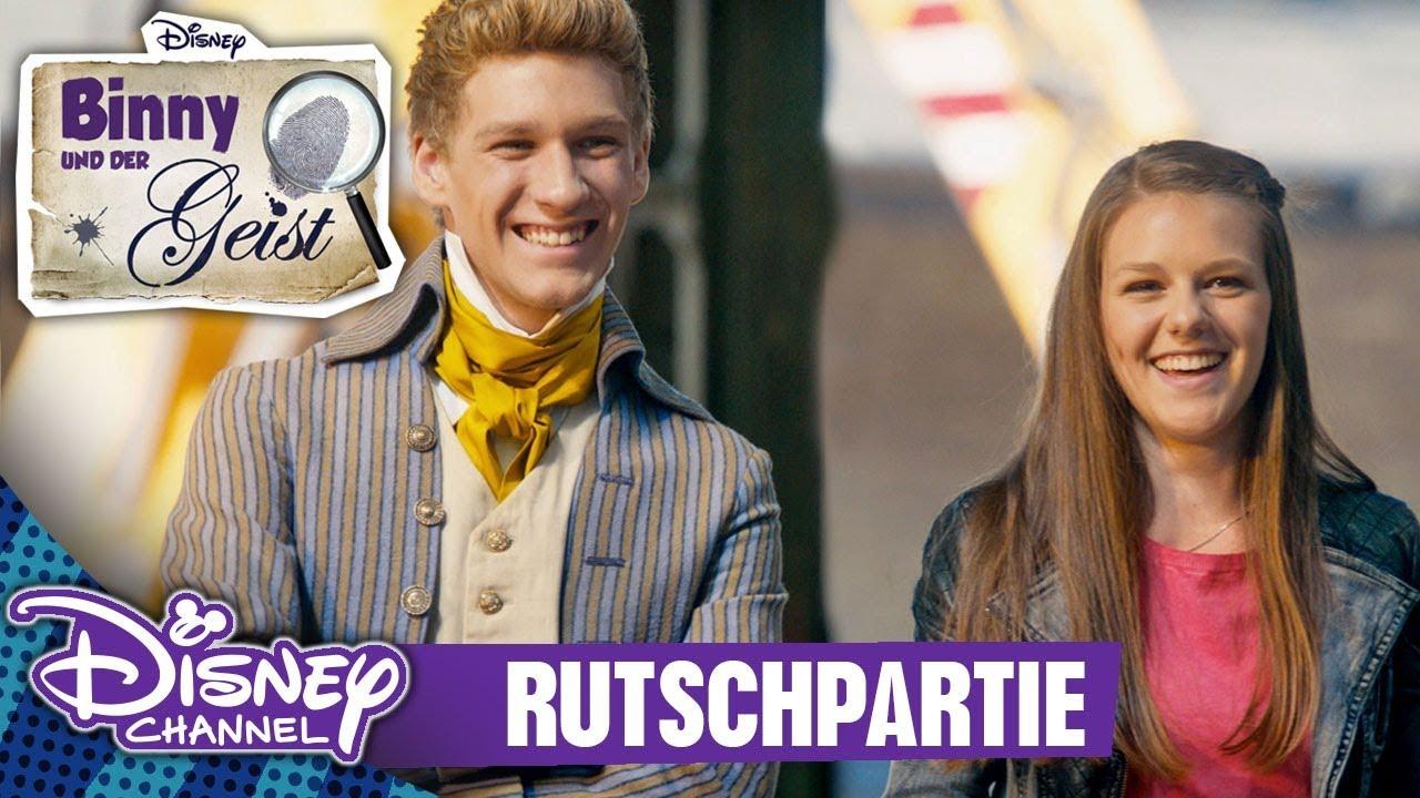 Binny Und Der Geist Clip Rutschpartie Disney Channel App Youtube