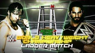 WWE Money in the Bank 2015 Seth Rollins vs Dean Ambrose Ladder Match WWE World heavyweight Title Pg