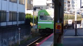 JR西日本103系 奈良線普通奈良行き 宇治駅発車
