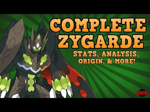 zygarde perfect form stats origin speculation youtube