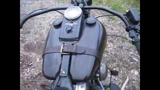 "harley, bobber,evo,khrome werks,slipons, 2.5"", softail,sound,idling,potato,idle, less than 500 rpm"