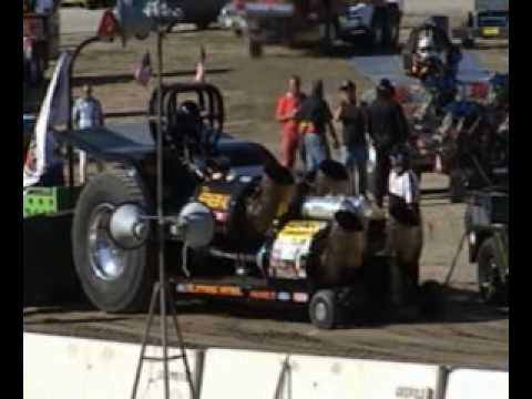"""Gardner Stone """"The General"""" Tractor Pulling - Jet Turbine Pulling Tractor NTPA"""