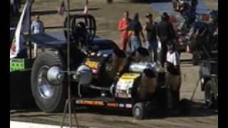 Gardner Stone 'The General' Tractor Pulling - Jet Turbine Pulling Tractor NTPA