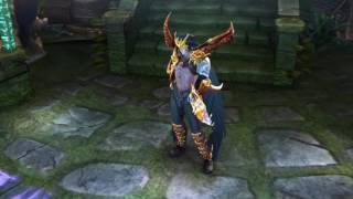 Vainglory 100th Champion's Fate Blackfeather Skin