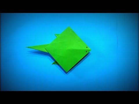 How to Make a Paper Stingray DIY - Easy Origami Step by Step