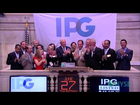 Interpublic Group Visits the NYSE