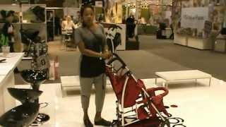 Kinderwagon * Hop *  Double stroller @ AbC KIdS Show 2013