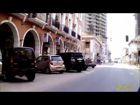 Hyosung ST7   Passeio nas calmas do domingo Centro e Marginal - Luanda - Angola