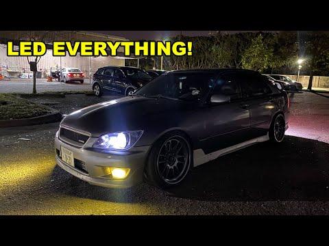 LED Everything!! Lexus IS300 LED Upgrades!