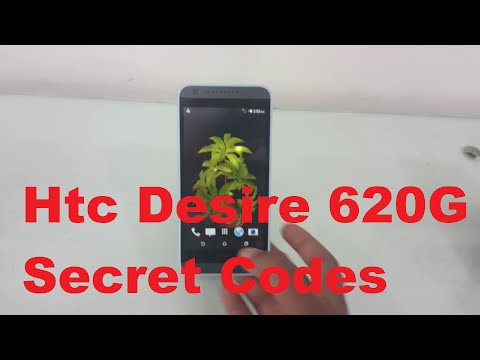 Htc Desire 620G Secret Codes