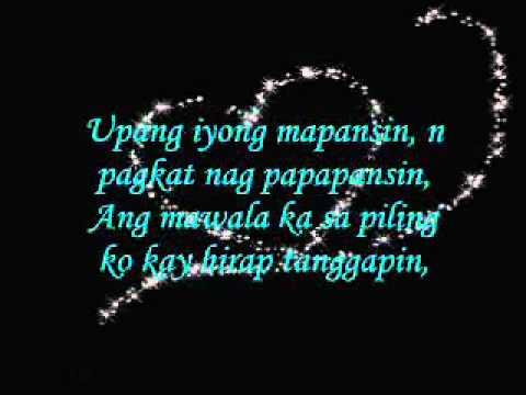 (i knew i love  you tagalog version)