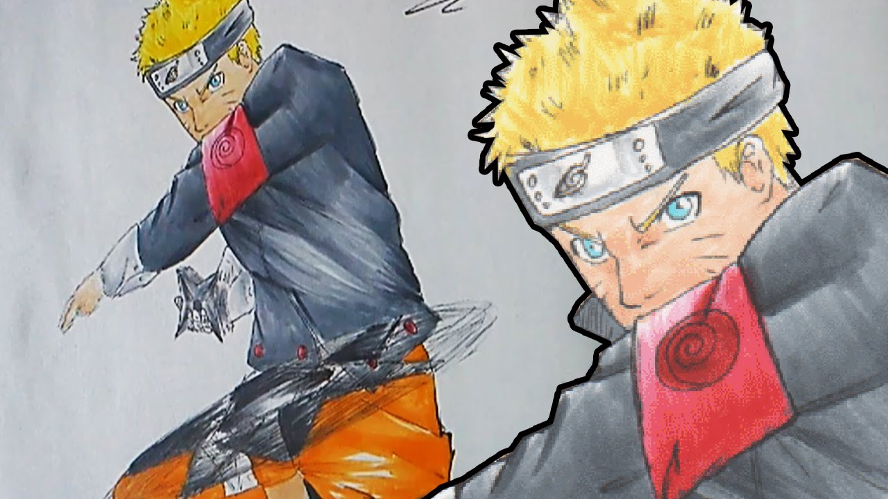 "Let´s Draw Naruto Uzumaki (""The Last Movie"" 2014-Style ..."