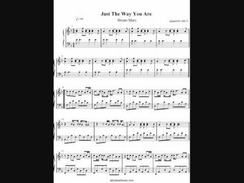 Bruno Mars - Just The Way You Are (Piano Cover) by aldy32