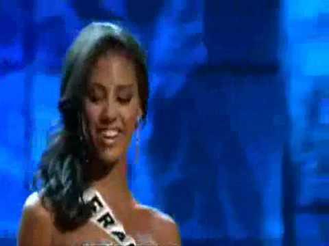 Miss Universe 2009 Presentation Show - FRANCE (Chloé Mortaud)